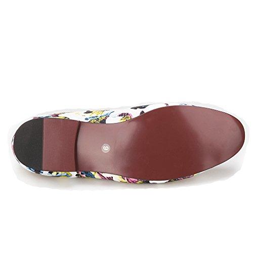 Ciao E Hann Multi-colori Uomini Camuffamento Tropicale Casual Pantofola Uomini Fannullone Slip-on Round Toes Smoking Slipper