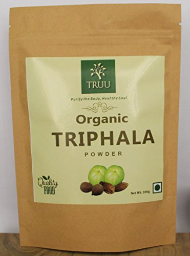 Organic Triphala Powder, Fresh Pure 100% Natural Imported