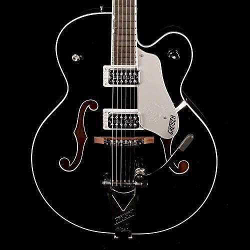 Gretsch Guitars G6136SLBP Brian Setzer Black Phoenix Semi-Hollow Electric Guitar Black Phoenix - Lacquer
