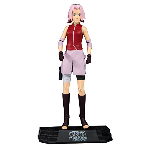 McFarlane Toys Naruto Shippuden Sakura Collectible Action Figure