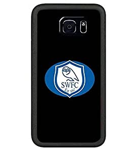 Cool Football Logo Samsung Galaxy S6 Edge Plus Case Cover Sheffield Wednesday F.C Cute Style Sports Football Image For Girls Scratch Proof Cover Skin