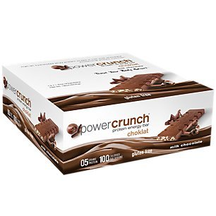 Bionutritional Research Group Power Crunch Chocolate Milk Chocolate Bar, 1.5 Ounce, 12 -