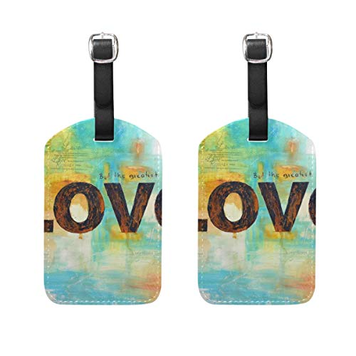 Luggage Tags Art-Inspired-God Mens Tag Holder Kids Bag Labels Traveling Accessories
