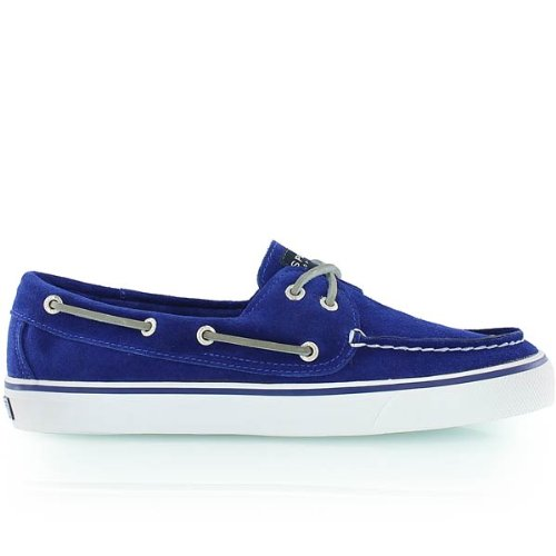 Sperry Womens Boat Shoes Size 6 M 9837386 Bahama 2 Eye Cobalt Suede