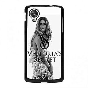 Black Case Victoria ¡¯ s Secret funda para Google Nexus 5, teléfono móvil de la Victoria ¡¯ s logo Secret Case, compatible con Google Nexus 5, color multicolor