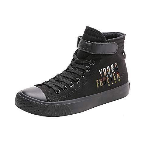 Transpirables Caballero Ocasionales Lona De Bts Alta Lazada Zapatos Ayuda Black03 Spring xwBPfA08