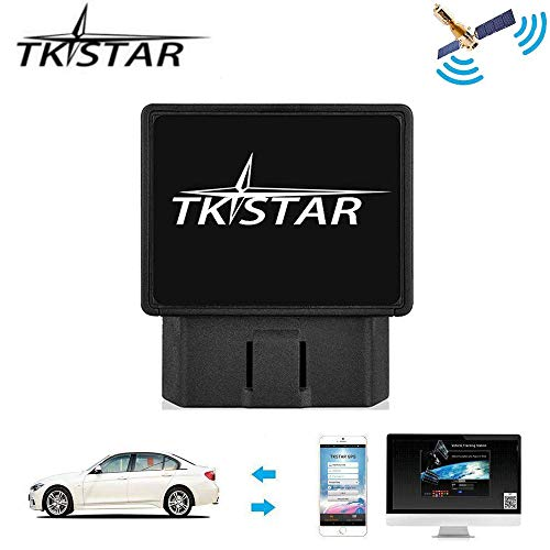 Teen Driving App >> Tkstar Obd Car Gps Tracker Vehicle Real Time Tracking Device Teen Driving Coach Vehicle Gps Anti Theft Fleet Moitoring System Free App Support Ios