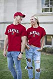 Elite Fan Shop Kansas Jayhawks Men's Short Sleeve