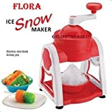 PREMIUM QUALITY FLORA ICE SNOW MAKER/ GOLA MACHINE FOR KIDS CHILLING IN SUMMER-ATTRACTIVE LOOK