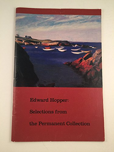 Edward Hopper: Selections from the Permanent Collection (Whitney Museum of American Art, July 21- November 5, 1989)