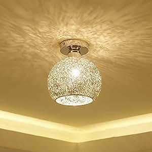 Modern Ceiling Lighting Flushmount Light Fixture For Bedroom Bathroom