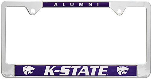 All Metal NCAA Alumni License Plate Frame (Kansas State)