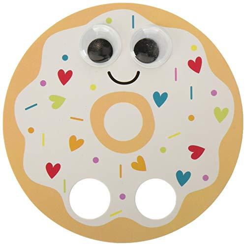 Amscan 399273 Valentine Donut Walker Cards, 4 3/4