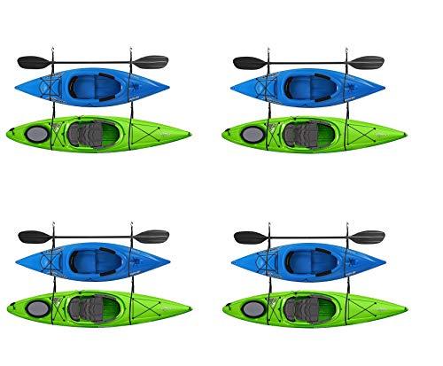 RAD Sportz 2029 Double Kayak Storage Strap GarageCanoe Hoists 100 lb Capacity (Pack of 4)