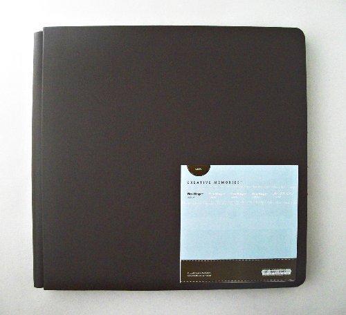 12x12 Chocolate Album (Creative Memories Flex Hinge Chocolate Brown Album 12 X 12 by Creative Memories)