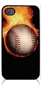HeartCase Hard Case for Iphone 4 4G 4S (Baseball )