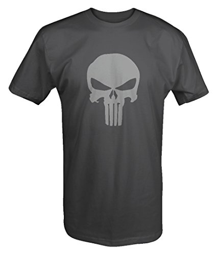 Stealth Edition - The Punisher Skull - Military Outdoor - T Shirt - Large