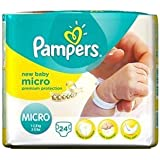 Pampers New Baby Nappies Size 0 Carry Pack24 per pack