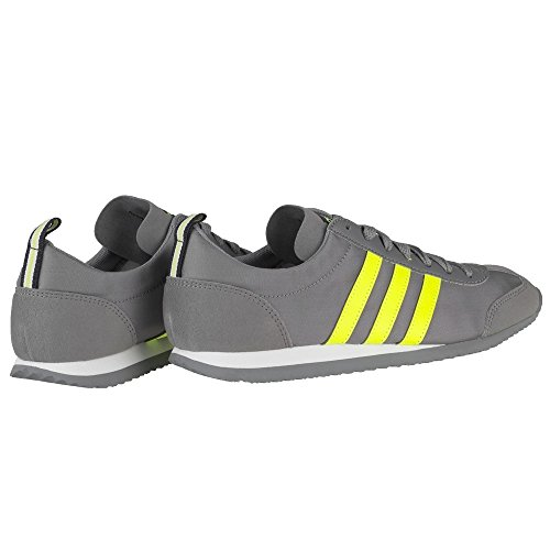 New Ups Neon Neon Trainers Grey Lace adidas Mens Neo 6 Grey Jog Gents 10 Sizes UK Vs 1qdzwpH