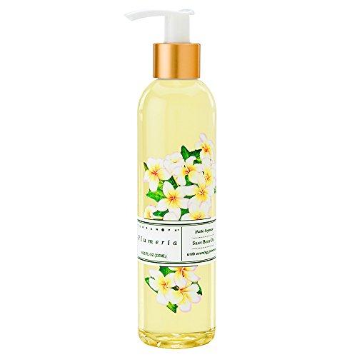 Terranova Plumeria Silky Body and Massage Oil 8.25 fl oz (Plumeria Scent Oil)