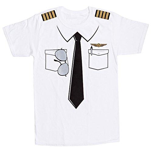 Aviation Pilot Wings (The Pilot Uniform T-Shirt - Luso Aviation -)