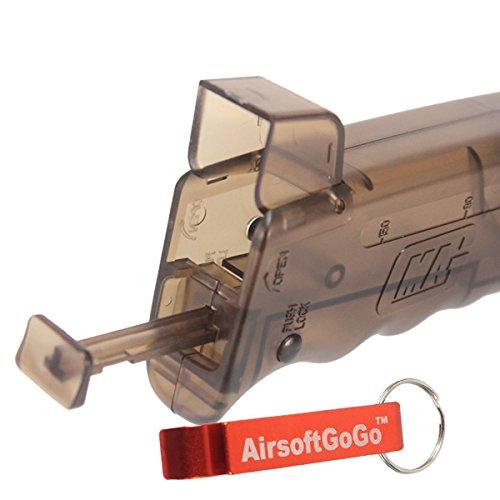 MAG 200rd 6mm BB Loader para Airsoft AEG GBB GBBR AEP - AirsoftGoGo Llavero Incluido