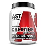 Micronized Creatine Monohydrate 1000 Grams - 200 Servings - AST Sports Science