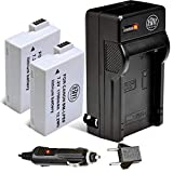 BM Premium 2-Pack Of LP-E8 LPE8 Batteries And Charger Kit For Canon Rebel T2i T3i T4i T5i DSLR Digital Camera
