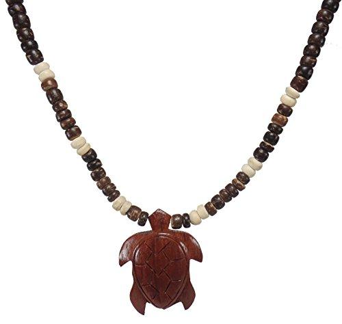 Turtle Necklace - Turtle Necklace Koa - Sea Turtle Necklace-koa Necklace-handmade Wood Turtle Necklace (Brown)