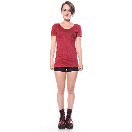 shirts Los Femmes Lobos Affliction T tnz1qC0xg
