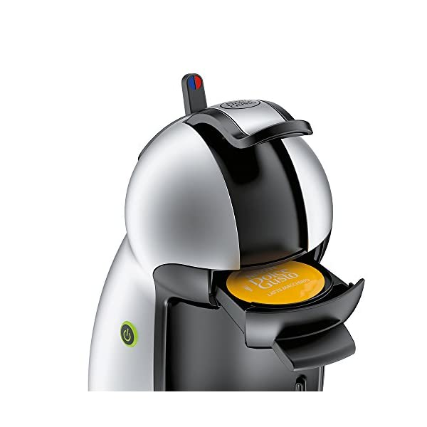 NESCAFÉ DOLCE GUSTO Piccolo EDG201.S Macchina per Caffè Espresso e altre bevande Manuale Silver di De'Longhi 3