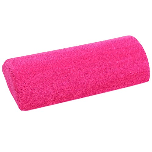 Soft Hand Rest Pillow Nail Art Manicure Hand Holder Cushion - Rose Red Generic