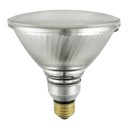 Sylvania 14577-15 14577 Capsylite PAR38 90W 130V Flood Beam Tungsten Halogen Reflector Bulb, 15 Pack, Clear