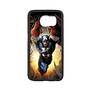 SamSung Galaxy S6 Phone Case for Captain America pattern design