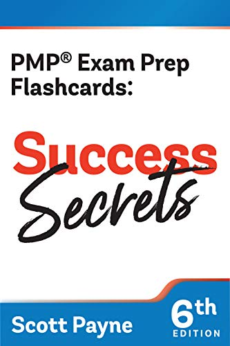 PMP Exam Prep Flashcards: Success Secrets (6th Edition)