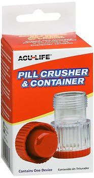 Acu-Life Pill Crusher with Container - 1 Each, Pack of 5