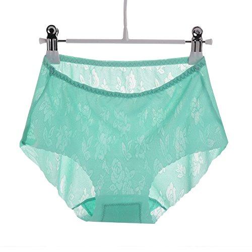 UJL No marcar la ropa interior femenina jacquard de una pieza de ropa interior sexy,