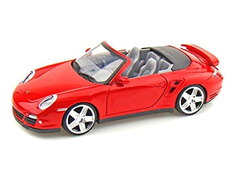 Porsche 911 Turbo Cabriolet 1/24 Red
