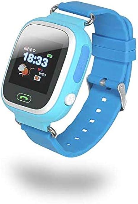 Chicpluss INNO-KIDS8- Azul, Reloj Infantil GPS, Mensajes de Voz ...