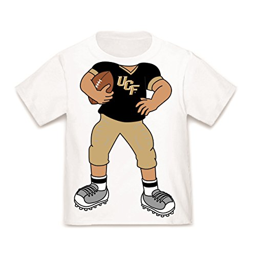 Future Tailgater UCF Central Florida Knights Heads Up! Football Baby/Toddler T-Shirt (18 Months)