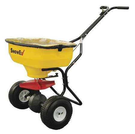 SnowEx Walk-Behind Broadcast Spreader - 100-Lb. Capacity, Model# SP-65