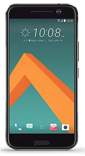 HTC 10 32GB Unlocked GSM Quad-Core Android Smartphone w/ 12MP Camera - Carbon Gray (Certified Refurbished)