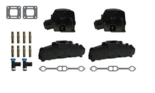 MERCRUISER COMPLETE EXHAUST MANIFOLD SET 5.0L & 5.7L (CAST IRON) | GLM Part Number: 58231