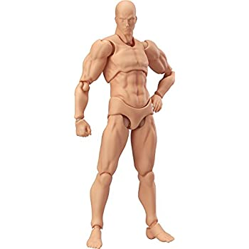 Max Factory Figma Archetype Next Male Action Figure (Flesh Colored Version)