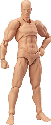 Max Factory Figma Archetype Next Male Action Figure (Flesh Colored Version) ()