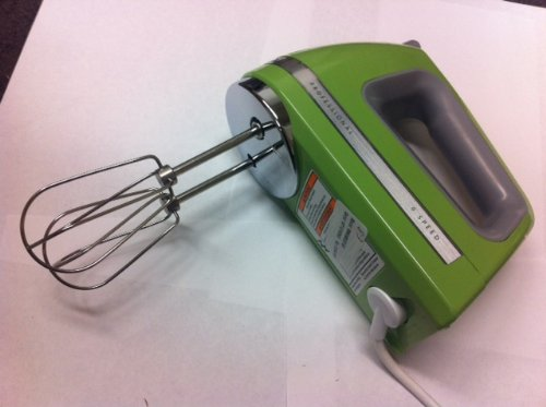 KitchenAid KHM920ga 9-Speed Most Powerful Digital Display Power Hand Mixer Green Apple For Sale