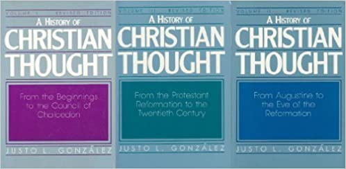 Book A History of Christian Thought (3 Volume Set) by Justo L. Gonzalez (1987-07-03)