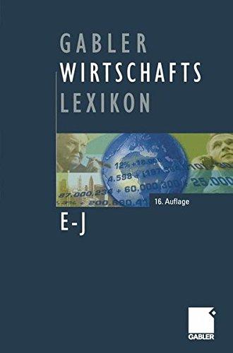 Gabler Wirtschafts Lexikon, 4 Bde.