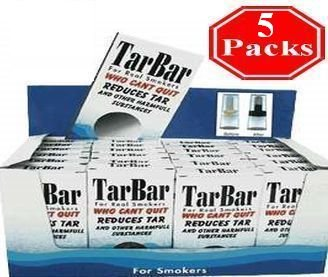 TarBar 5 Packs, Cigarette Filters Compare with Nic out, Tarblock or Tarstop. by Tarbar