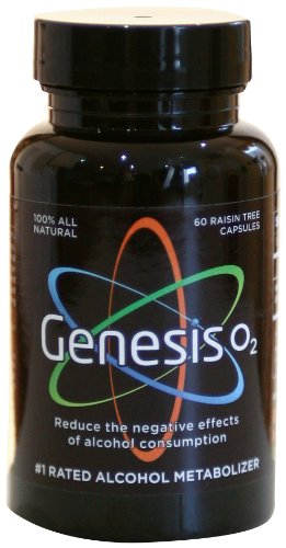 GenesisO2 Raisin Alcohol Metabolizer 60 Count product image